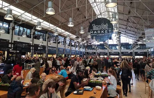 Time Out food market, Lisboa