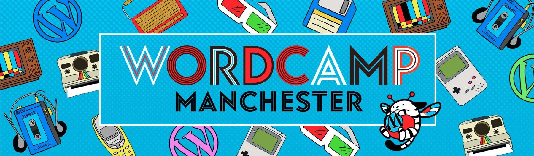 WordCamp Manchester Design Project with Factory Digital Marketing Agency