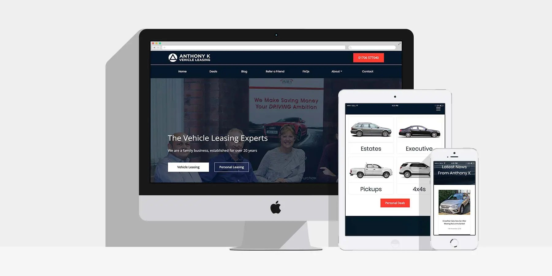 Web and Marketing for Anthony K: By Factory, Digital Agency In Manchester