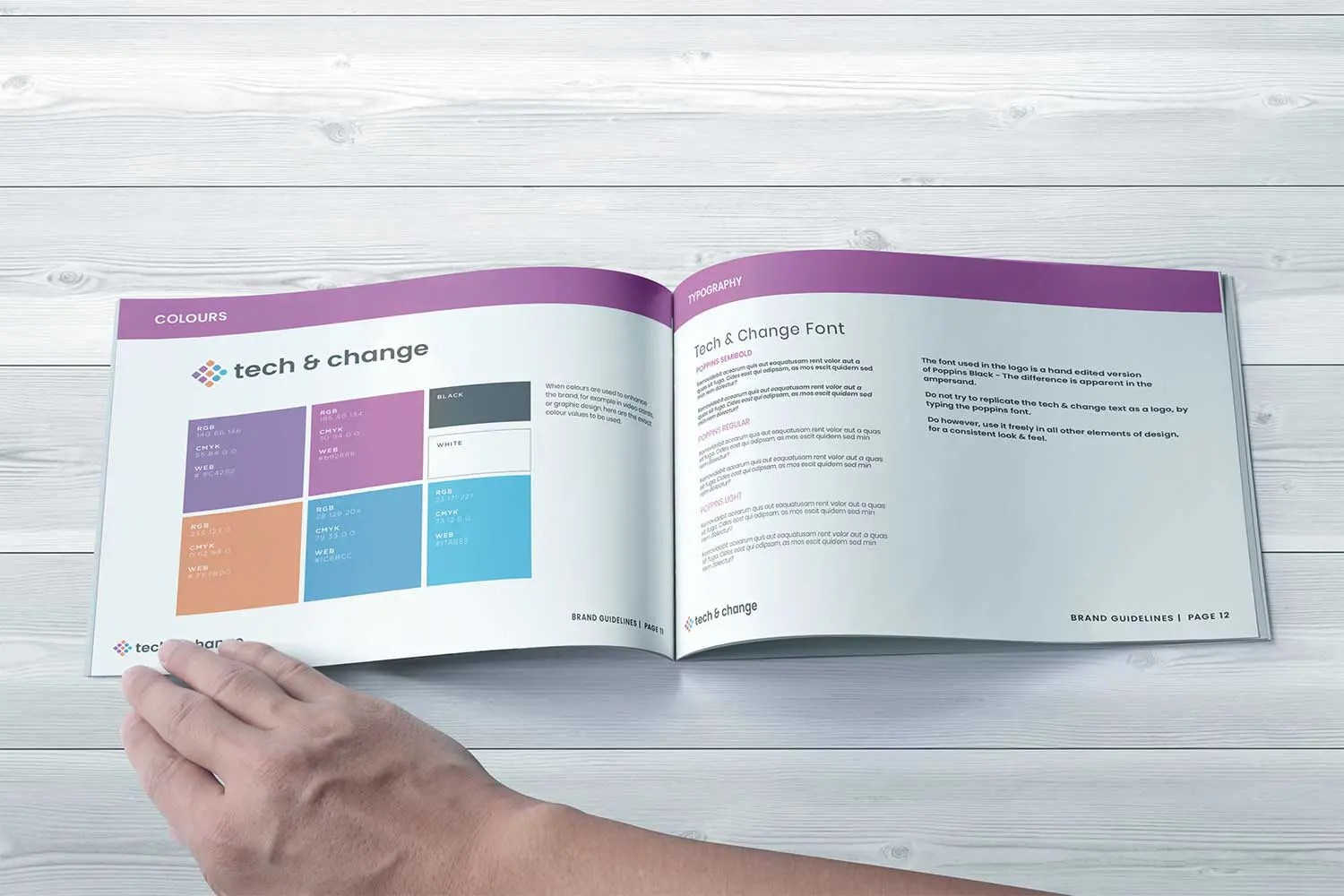 Provident Tech & Change Brand Guidelines, Factory. Brand Agency in ManchesterProject Image Digital Agency