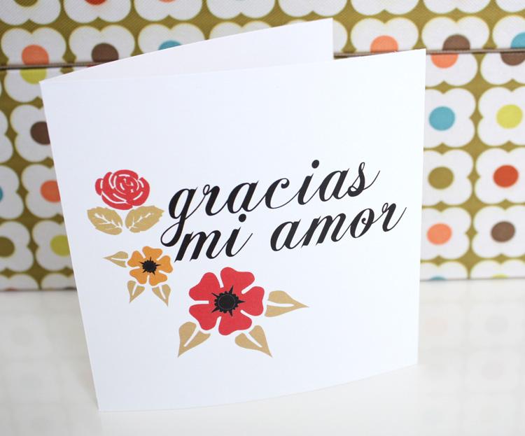 Thank You My Friend Spanish