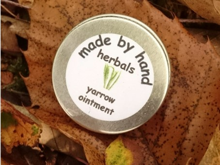 yarrow ointment | herbal | hedgerow | traditional | remedies
