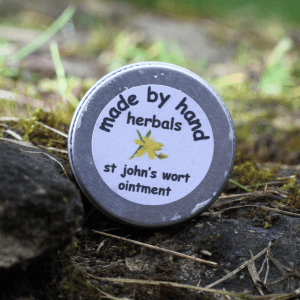 St John's Wort ointment | herbal remedies | hedgerow medicine | Kent | London | south east