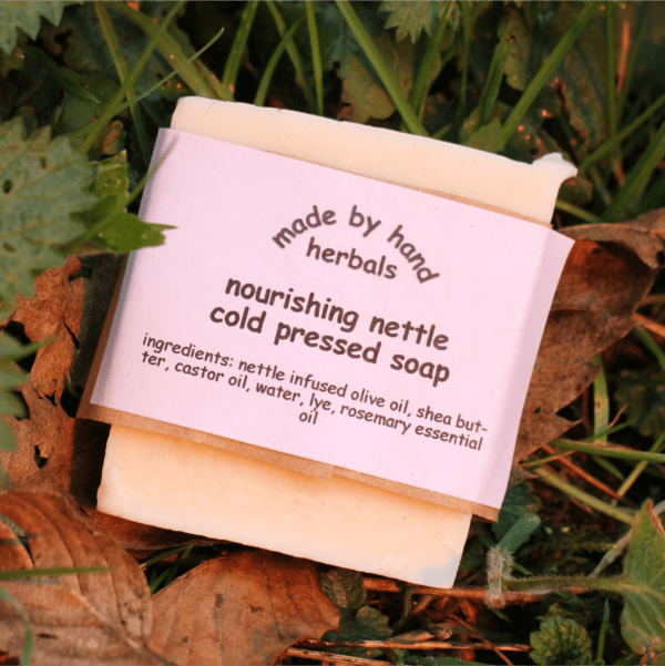Nourishing Nettle Cold Pressed Soap | hand nade | natural | traditional