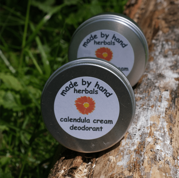 Calendula cream deodorant | natural | herbal | hedgerow