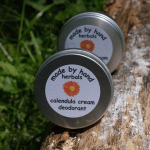Calendula cream deodorant | natural | herbal | hedgerow