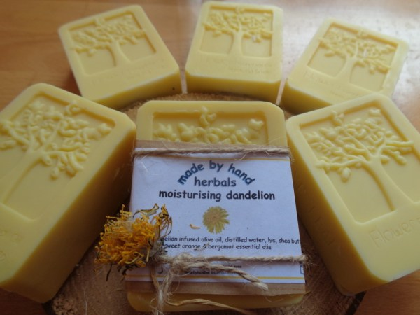 dandelion soap | Cold Pressed Soap | hand nade | natural | traditional