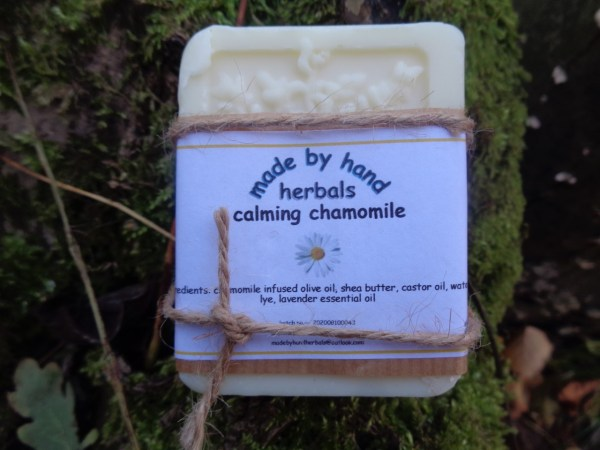 chamomile soap | Cold Pressed Soap | hand nade | natural | traditional