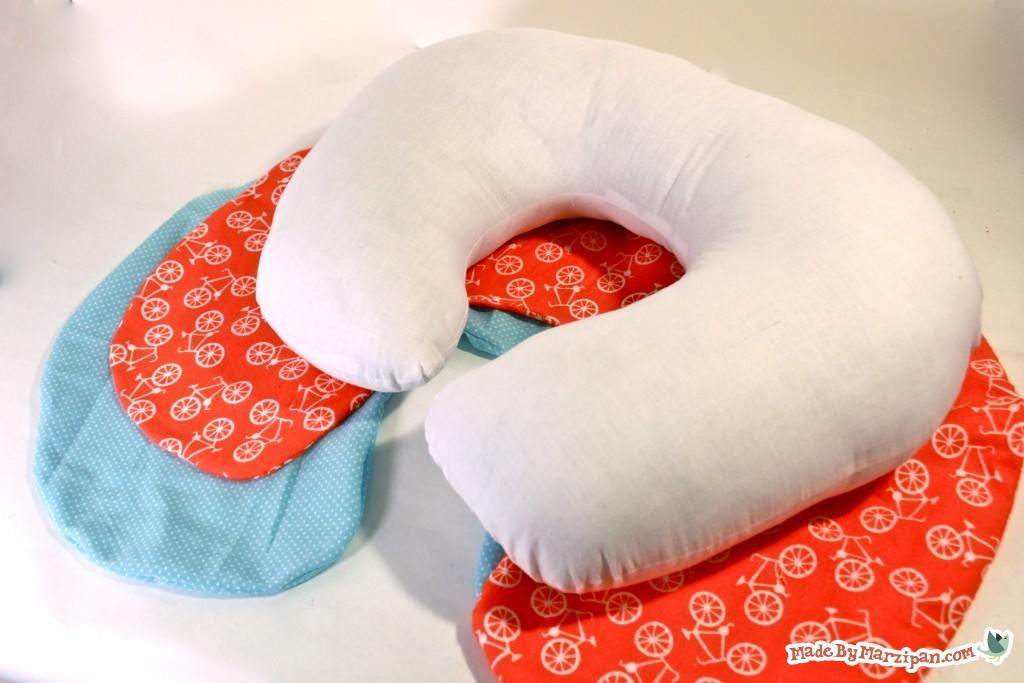 sew a poppy nursing pillow made by