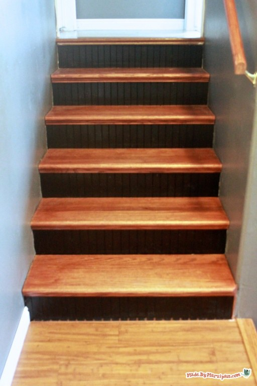 Finishing Hardwood Stair Treads