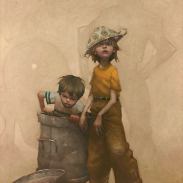 Art heroes and super heroes – Craig Davison