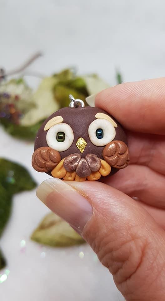 owl stitchmarker