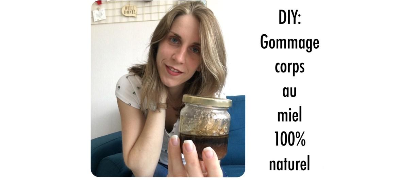gommage au miel 100% naturel