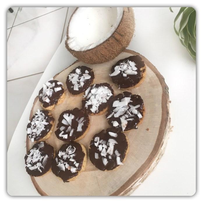 recette de biscuits granolas vegan à la noix de coco