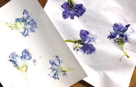 bashed botanical art print