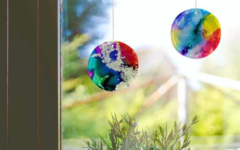 how to make diy suncatchers