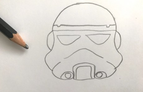 star wars stormtrooper sketch