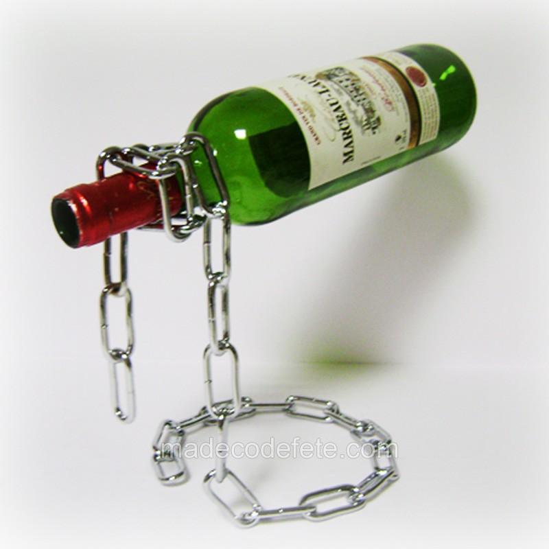porte bouteille chaine
