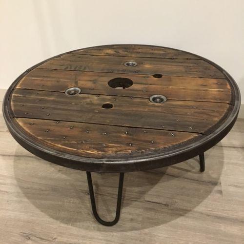 touret en bois pour la decoration