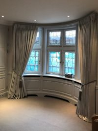 Bay Window Curtains | Made Curtains London | Curtain Ideas