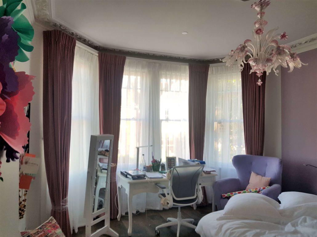 curtain for bay windows ideas