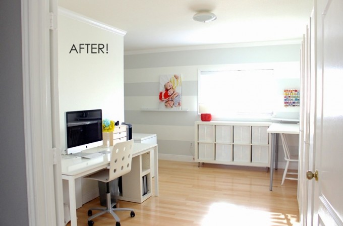 FirstHome Tour The Sewing Room Makeover Before and