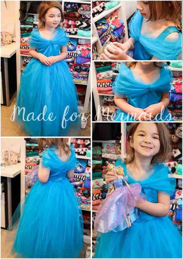 Free Cinderella Dress Pattern- Size 5 Mermaids