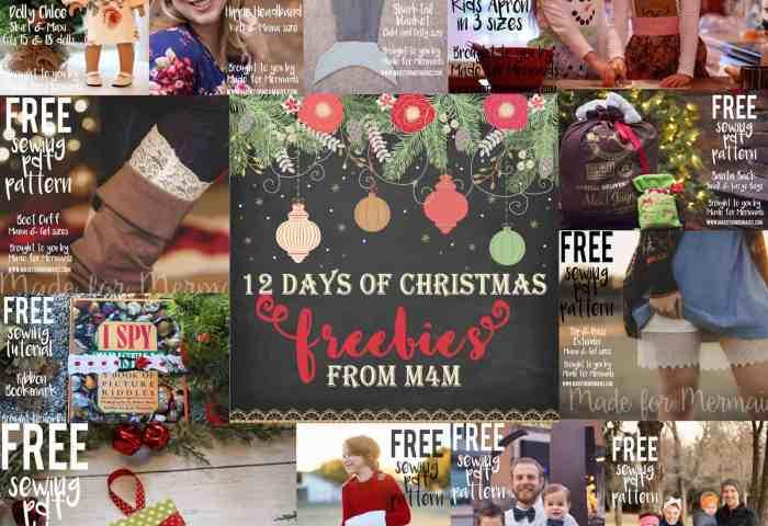 12 Days of Christmas Freebies 2016 Round Up
