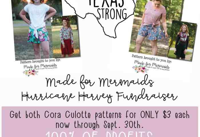Cora Culottes Round Up & Fundraiser