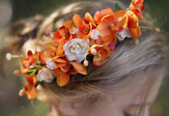 Floral Hair Comb Tutorial