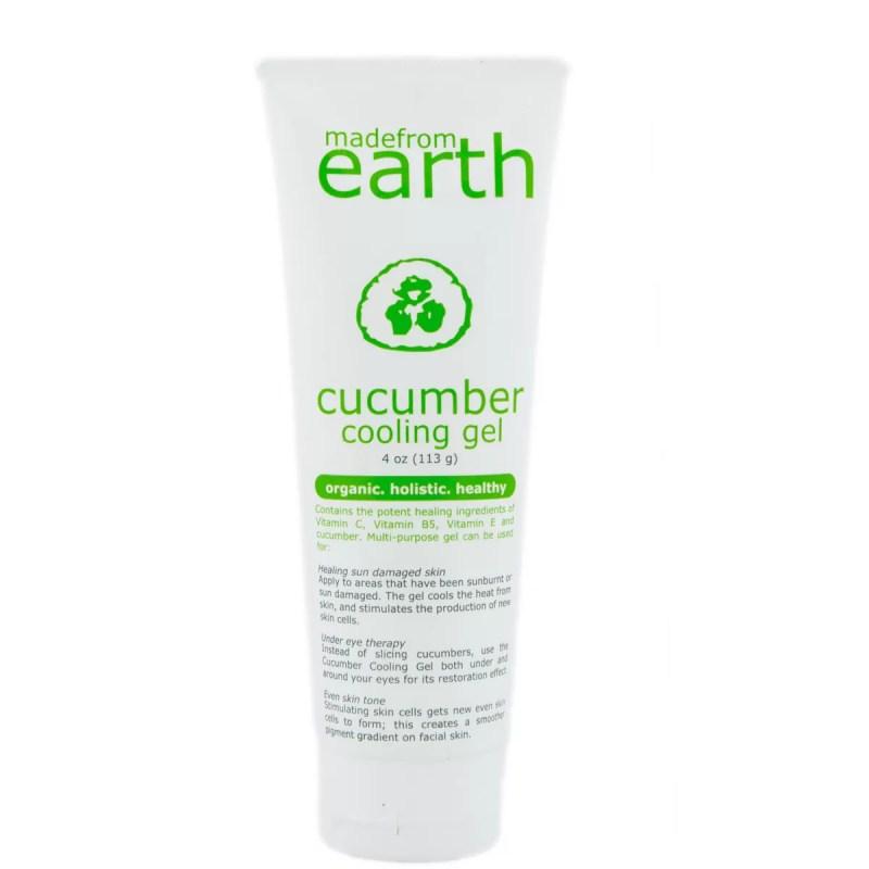 cucumber Organic Holistic and Chemical Free Skincare