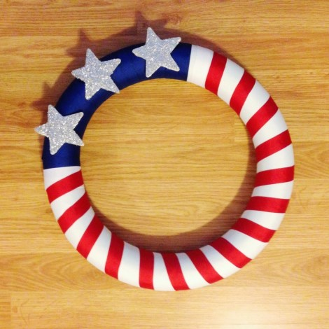 Flag-Door-Wreath