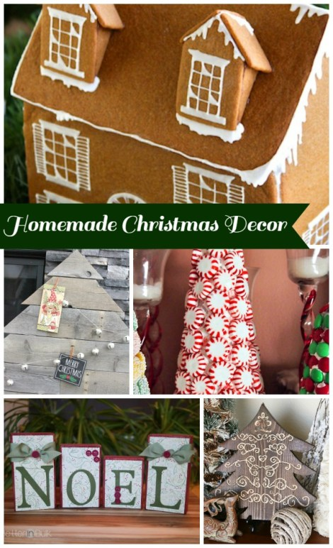 Wanting to add something extra special to your current Christmas decor?  Try one of these Christmas crafts for a holly jolly Christmas. Bakerette.com