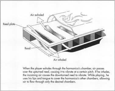 Mechanics of the harmonica