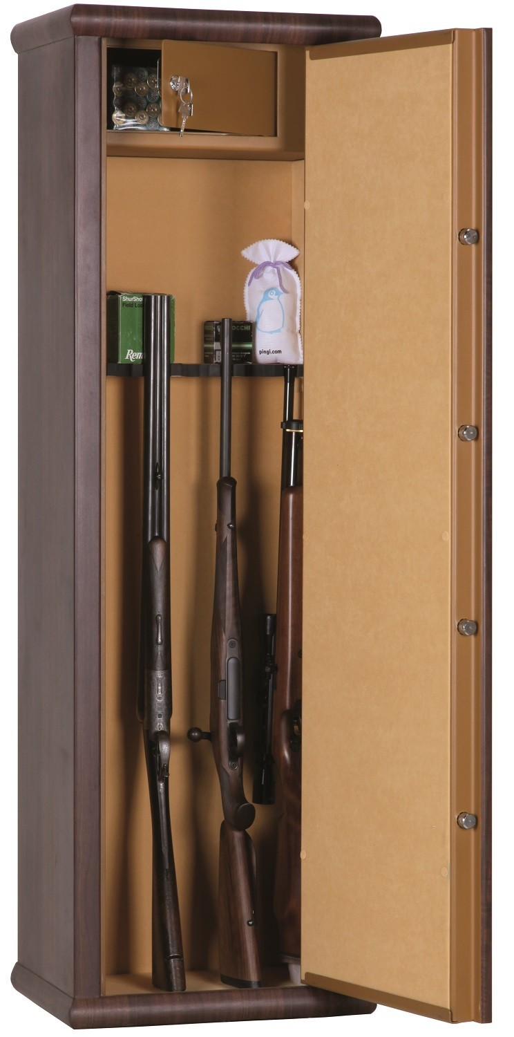 Armoire Forte Infac Wood Look 8 Armes Lunettes