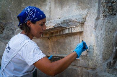 Pompei Regio V fonte PaP Restauri alla casa di Giove
