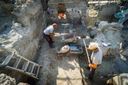 Pompei Regio V fonte PaP Scavo Casa di Giove
