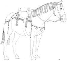 Pompei Civita Giuliana Scoperto terzo cavallo (5)