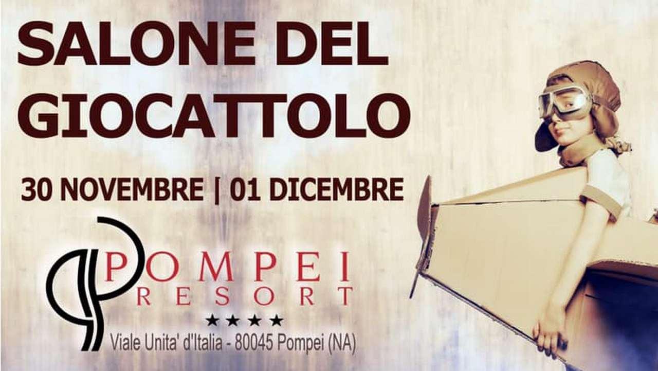Gioia per grandi e piccini: a Pompei torna il Salone del