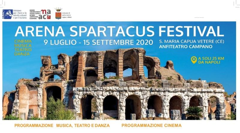 Nasce Arena Spartacus Festival: cinema, danza, letteratura, musica e teatro all'Anfiteatro Campano