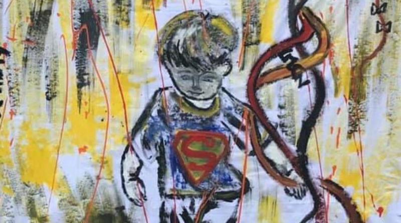 Il bambino con l'aquilone: l'opera di Chiara Nastro simboleggia la libertà dopo il lockdown
