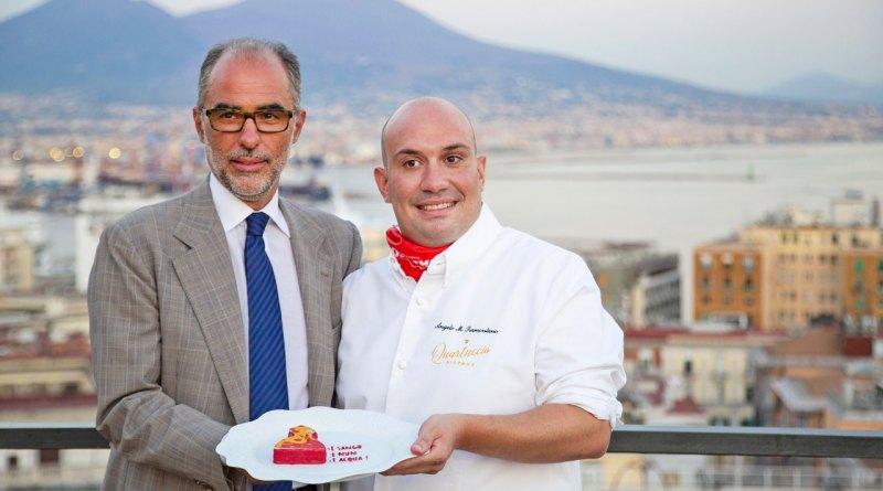 Un dolce per San Gennaro, vince la creazione di Angelo Maria Tramontano