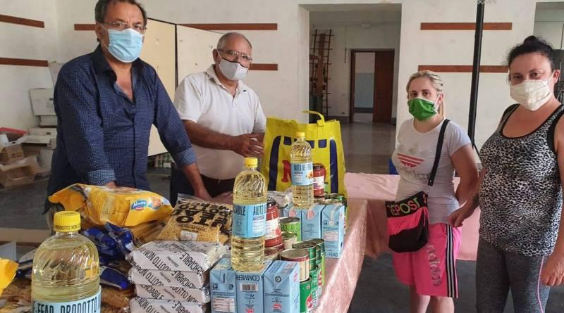 Pompei, carità senza sosta: distribuiti beni essenziali alle famiglie disagiate