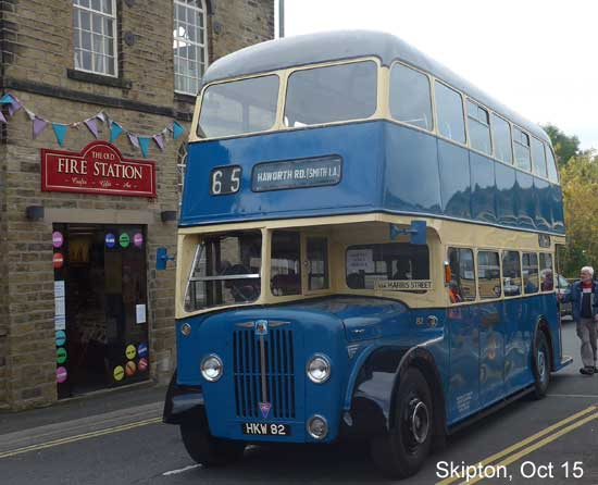 Skipton  10th Yorkshire Dales Bus Run