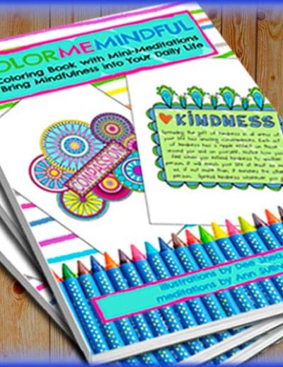 color me mindful a coloring book with mini-meditations