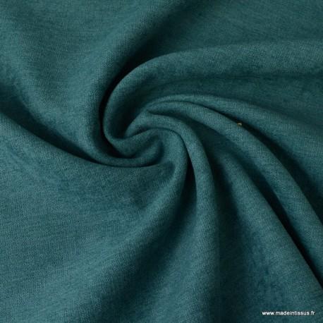 tissu isolant thermique et occultant coloris vert canard