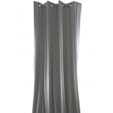 rideau occultant isolant phonique et thermique vesuvio gris