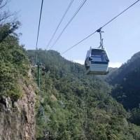 Madeira Island cable car - Funchal Botanical Garden Cable Car