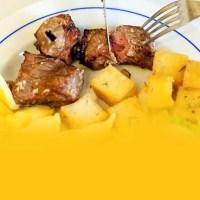 skewered meat Madeira - Espetada da Madeira