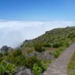 Wanderweg vom Pico do Arieiro zum Pico do Ruivo auf Madeira
